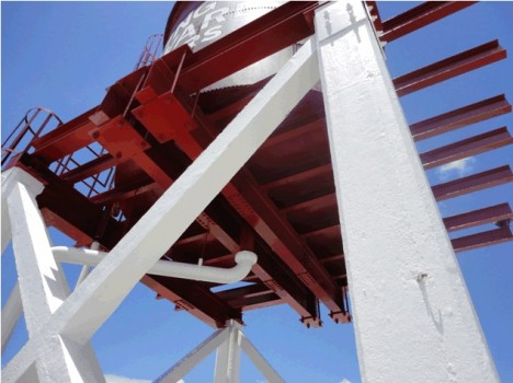 Swisher International Water Tank Platform Replacement
